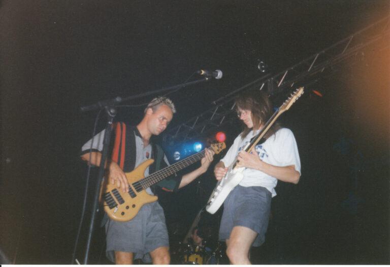 Parabole à Ste-Julienne en 1998